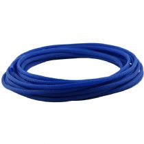 5m Blue Round 4mm High Density PET Braided Expandable Sleeving